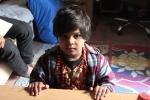 Veenu, the little girl next door at Surendra's place
