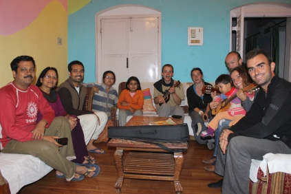 My host, his family & some couchsurfers...