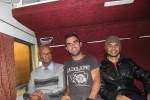 With Deepak & Shayandeep on the night train to Kolkota