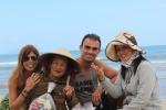 Great laughs @ Cau Dai beach