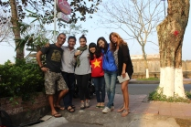 Alessandra, Victoria, me & our couchsurfers Tuan, Nhi & Nia