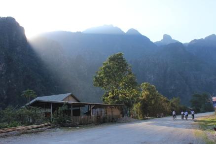 Road to Vang Vieng