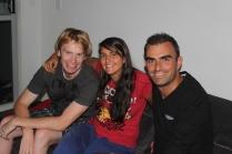 Sara & her Australian boyfriend