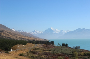 Lake Pukaki & Mt Cook