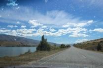 Road Queenstown - Christchurch