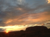 Sunset @ Uluru