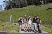 Before the Cradle Mountain hike
