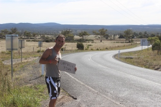 Hitchhiking in Tasmania