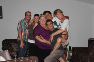 Scottt, Justin, Tracy, Guy, Emrys & myself