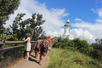 Paul, Rebeca, Tom & George @ Cape Byron lighthouse