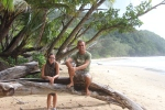Cecile & me @ Cape Tribulation (Daintree Forest NP)