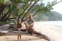 Cecile & me @ Cape Tribulation (Daintree Forest NP)