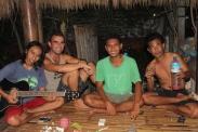Soul, me, Iwan & Mbier @ Pondok Sederhana homestay