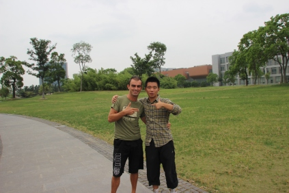 Zhuo & me @ Tongji University