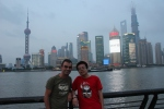 In Shanghai with Zichen