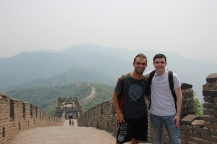With Steve @ Mutianyu Great Wall