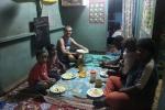 Havin' dinner with the family