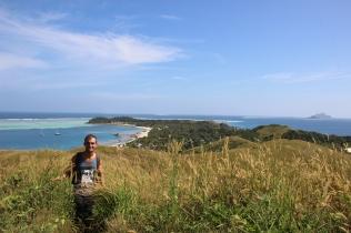 Exploring the island of Mana