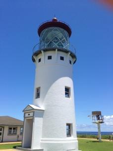 The 'Kilauea Point' lighthouse