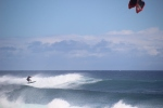 Kitesurfing @ Shipwreck Beach in Po'ipu