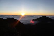 The Haleakala sunrise
