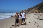 With Muriel & Taavet @ El Matador beach, Malibu