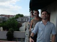 Signore Vincenzo, Chris & me @ Villa Convento