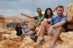 Einat, Jordan, me, Doron & Chris @ Bryce's Amphitheater