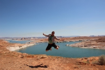 Chris @ Lake Powell