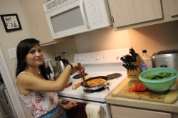 Marisa's passion... cooking delicious food !