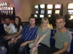 With Paul, Melanie, Chris &  Stephanie @ Mount Blue casino