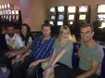 With Paul, Melanie, Chris &  Stephanie @ Mount Blue casino