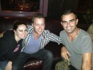 With Sarah & Chris @ Flying Saucer