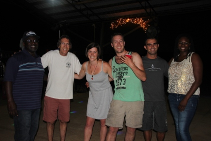 William, Marcus, Kat, Chris, me & Hollie @ Foxfire ranch