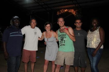William, Marcus, Kat, Chris, me & Hollie @ Foxfire ranch