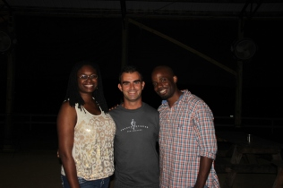 With Hollie & MacArthur @ Foxfire Ranch