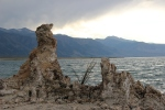 Tufa's or petrified springs  in Mono Lake