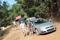 Chris & Quan @ Bear's 'Double Rainbow' farm