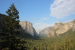 View on Yosemite Valley from Tunnel View