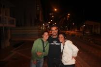 With Audrey & Najat @ Puerto Ayero, Santa Cruz
