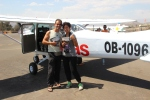 Our Nazca flight certification