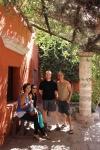 Golnaz, Carla, Turner & myself @ Monasterio de Santa Catalina