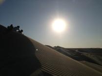 Surfing the desert @ sunset