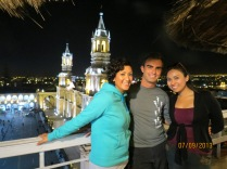 With Golnaz & Carla @ Terrasse rooftop bar