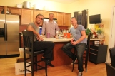 Chris & I with Austin in his beautiful home in Nashville