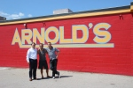 With Henry @ Nashville's famous 'Three 'n' Meat' @ Arnold's