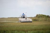 Floating with an airboat on the 'River of Grass'