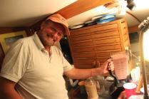 Amazing Jay making his tasty smoothie !