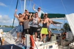 Charlie, Rex, Chris, Jessica, Max & I after some amazing days with Jay in the Keys