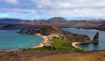 The volcanic island of Bartolomé